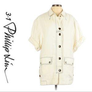 💕SALE💕 3.1 Phillip Lim Ivory Button Up Jacket